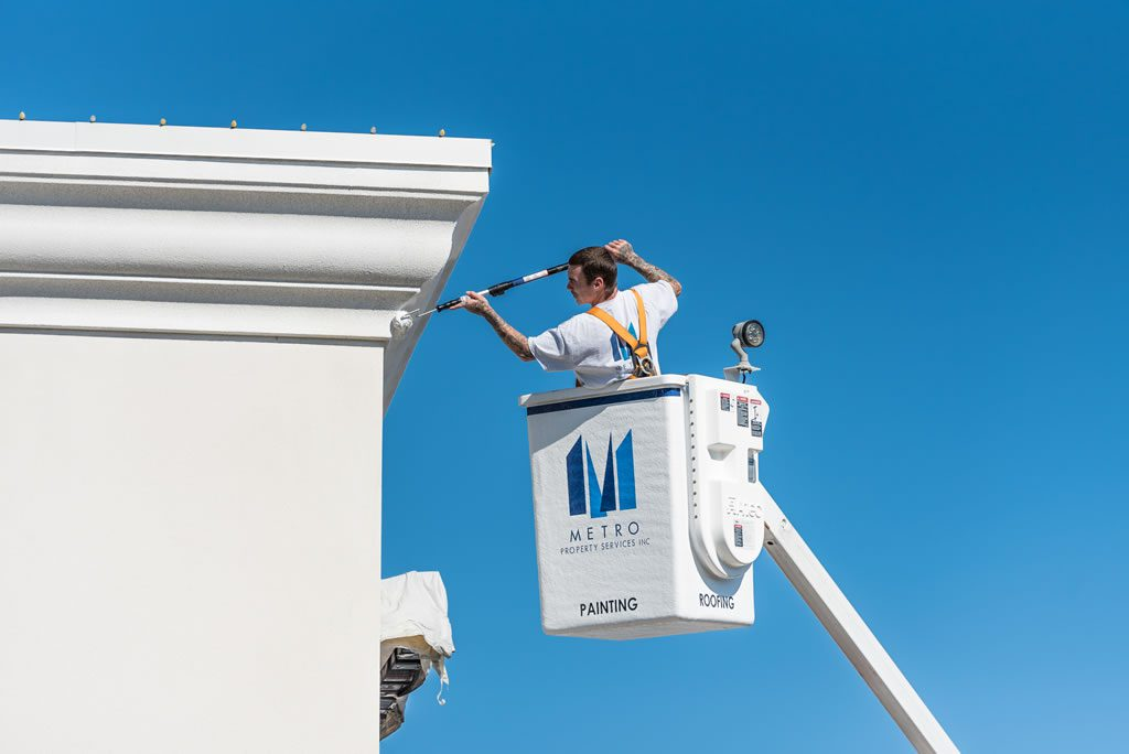 Our professional painters can freshen up or transform the look of your building