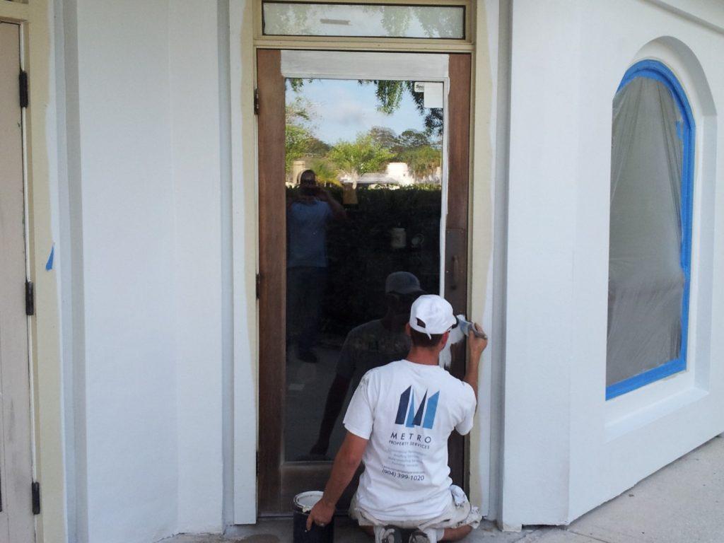 Door painting